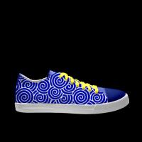 合作设计师羅Asura中式神话系列自由涂鸦男款低帮鞋