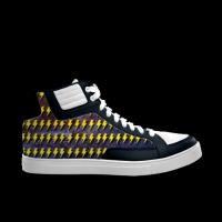 合作设计师林战士闪电系列劲舞涂鸦男款高帮鞋