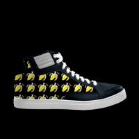 合作设计师林战士水果香蕉系列劲舞涂鸦男款高帮鞋