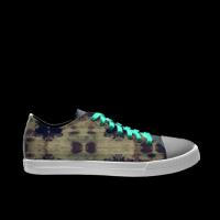 合作设计师MoraBaby抽象系列自由涂鸦男款低帮鞋