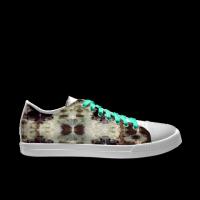 合作设计师MoraBaby复古系列自由涂鸦女款低帮鞋
