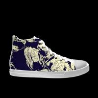 合作设计师MoraBaby抽象系列自由涂鸦男款高帮鞋