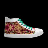 合作设计师MoraBaby巴洛克系列涂鸦狂人女款高帮鞋