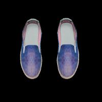 合作设计师MoraBaby天極系列随性涂鸦懒人鞋女款麻底鞋