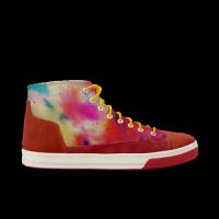 MR.Bigmiao-彩-左右有别 轻效滑板涂鸦鞋