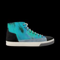 MR.Bigmiao-海-左右有别 轻效滑板涂鸦鞋