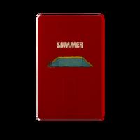 summer 彩印卡片式U盘