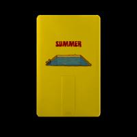 summer 8G 彩印卡片式U盘