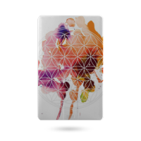 Card U Disk 8G 彩印卡片式U盘 Art of life. hk