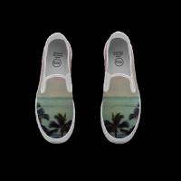 Slip-on Sneakers Paint 涂鸦运动便鞋 男