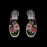 Slip-on Sneakers Paint 涂鸦运动便鞋 男 Art of life.hk