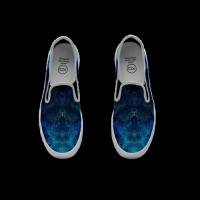 【二萌家】Slip-on Sneakers Paint 涂鸦运动便鞋 男