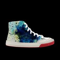 【二萌家】Slide lite hitop paint neo 高帮涂鸦 轻效滑板鞋 中性