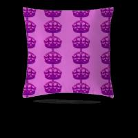 皇冠 抱枕 50*50cm