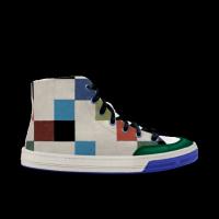 Slide lite hitop paint neo 高帮涂鸦 轻效滑板鞋 中性
