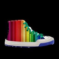 彩虹Slide lite hitop paint neo 高帮涂鸦 轻效滑板鞋 中性