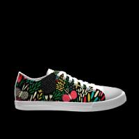 秘密花园自由低帮涂鸦帆布鞋 男