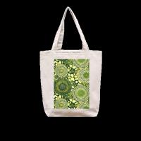 秘密花园系列bag 时尚款单面定制米色帆布包