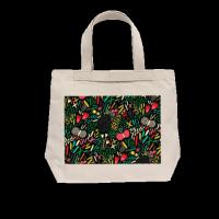 秘密花园系列bag 休闲款单面定制帆布包