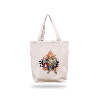 bag 时尚款单面定制米色帆布包