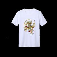 自由涂鸦短袖定制纯棉t恤