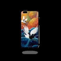 iphone6plus 黑边软壳 UV彩印